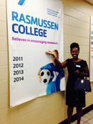 Staceyann Sinclair of Rasmussen College on a life experience that shaped her: